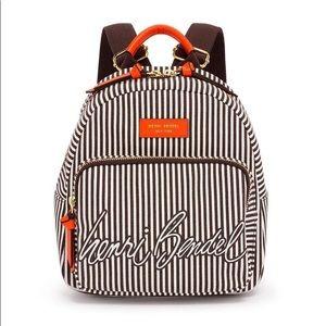 Henri Bendel Limited Edition canvas backpack